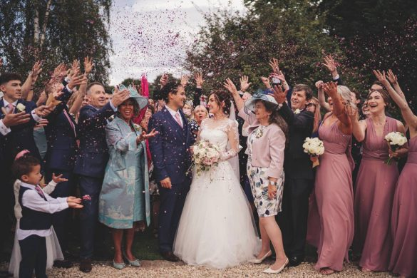 A lovely summer wedding in Surrey