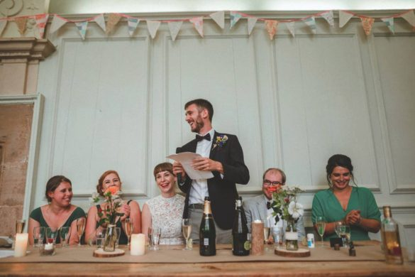 A fun-filled Exmoor wedding