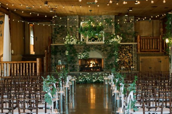 A stunning winter wedding in Colorado