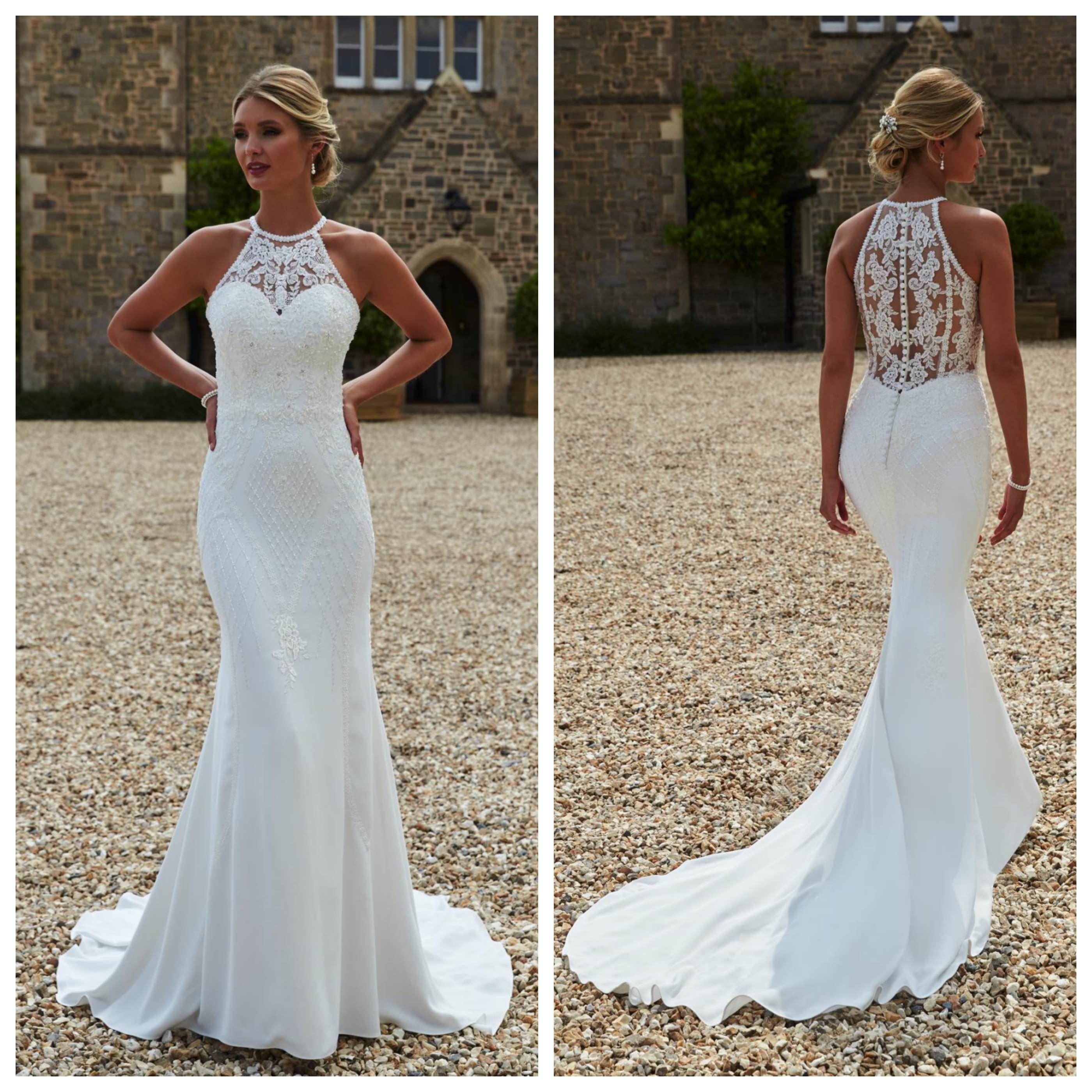 illusion wedding dresses