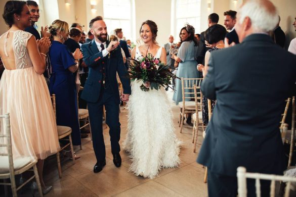 A chic wedding filled with laughter & love