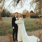 wintry wedding