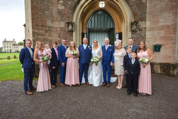 A beautiful summer wedding in Bristol