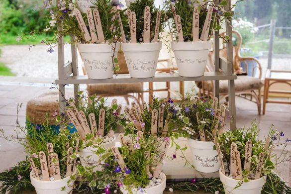 A gorgeous summer wedding celebration