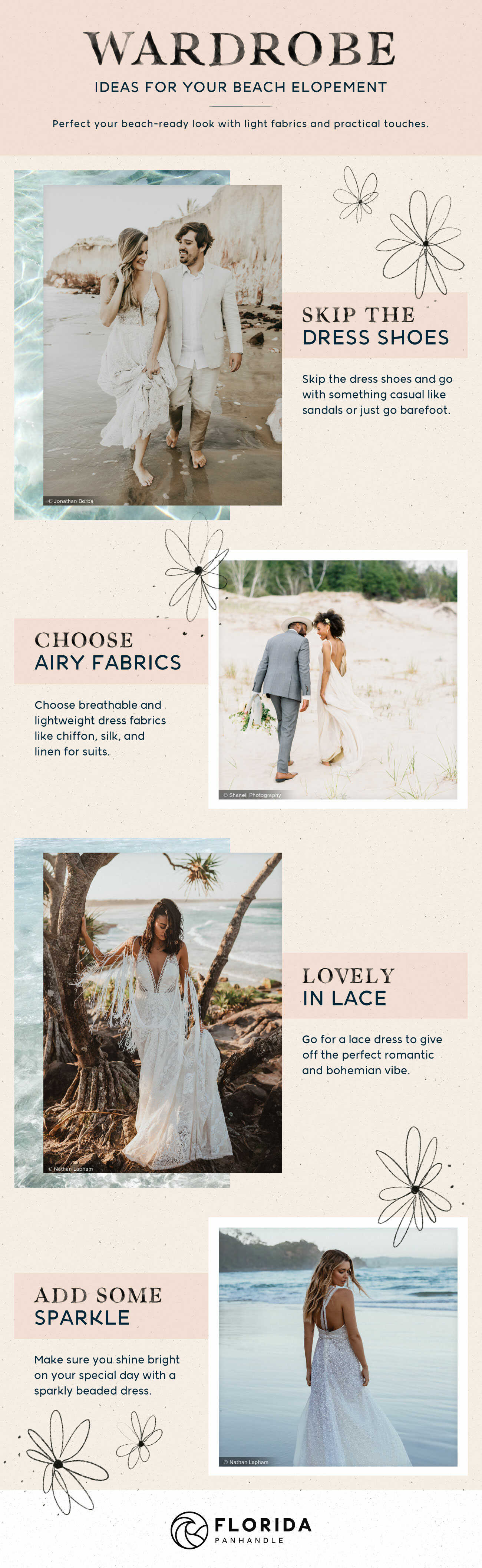 Planning A Relaxed Beach Wedding Or Elopement Love Our Wedding
