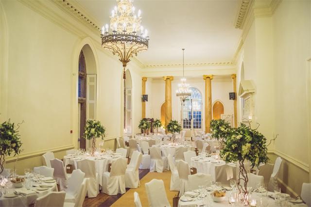 Clearwell Castle - Ballroom Wedding Breakfast (NM)