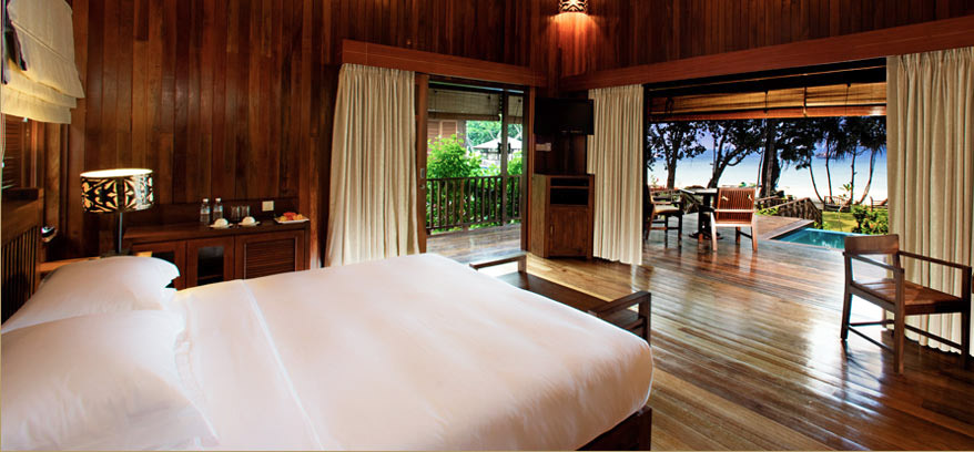 Secret honeymoon in Borneo