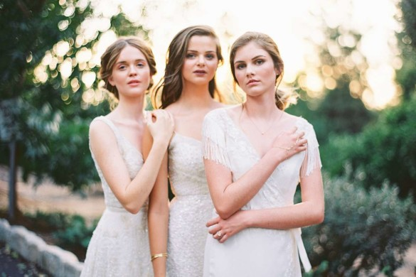Handcrafted wedding gowns
