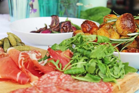 Italian wedding breakfast menu