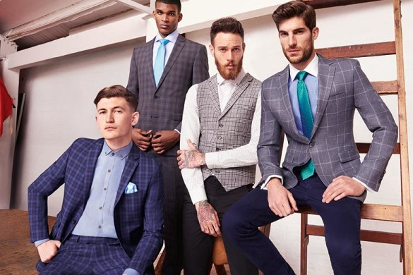 Wedding suits from the high street