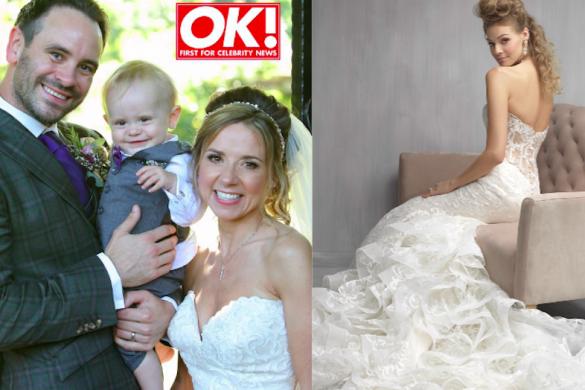 Sarah Jane Honeywell weds Ayden Callaghan