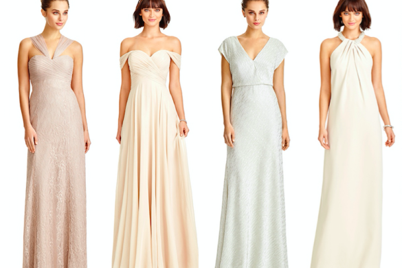 Bridesmaid dress styles from Dessy
