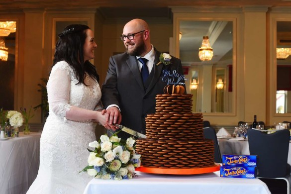 jaffa wedding cake
