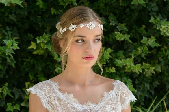 Bridal hairvines from Ivory & Co