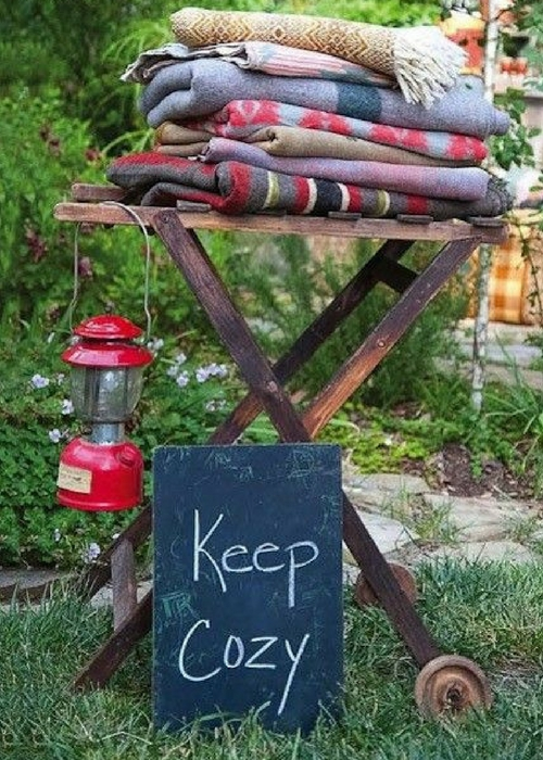 BE PREPARED - Keep cozy