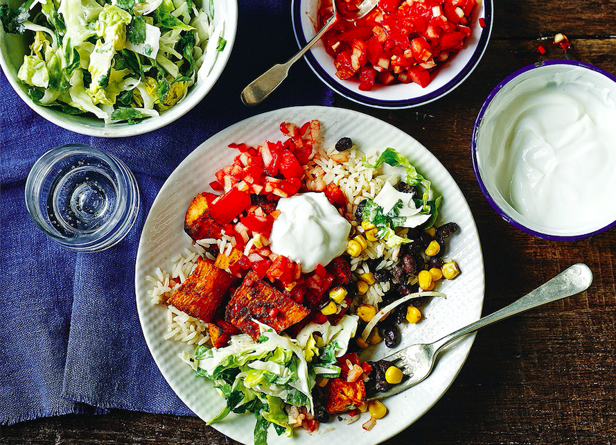 Vegetarian recipes from Slimming World