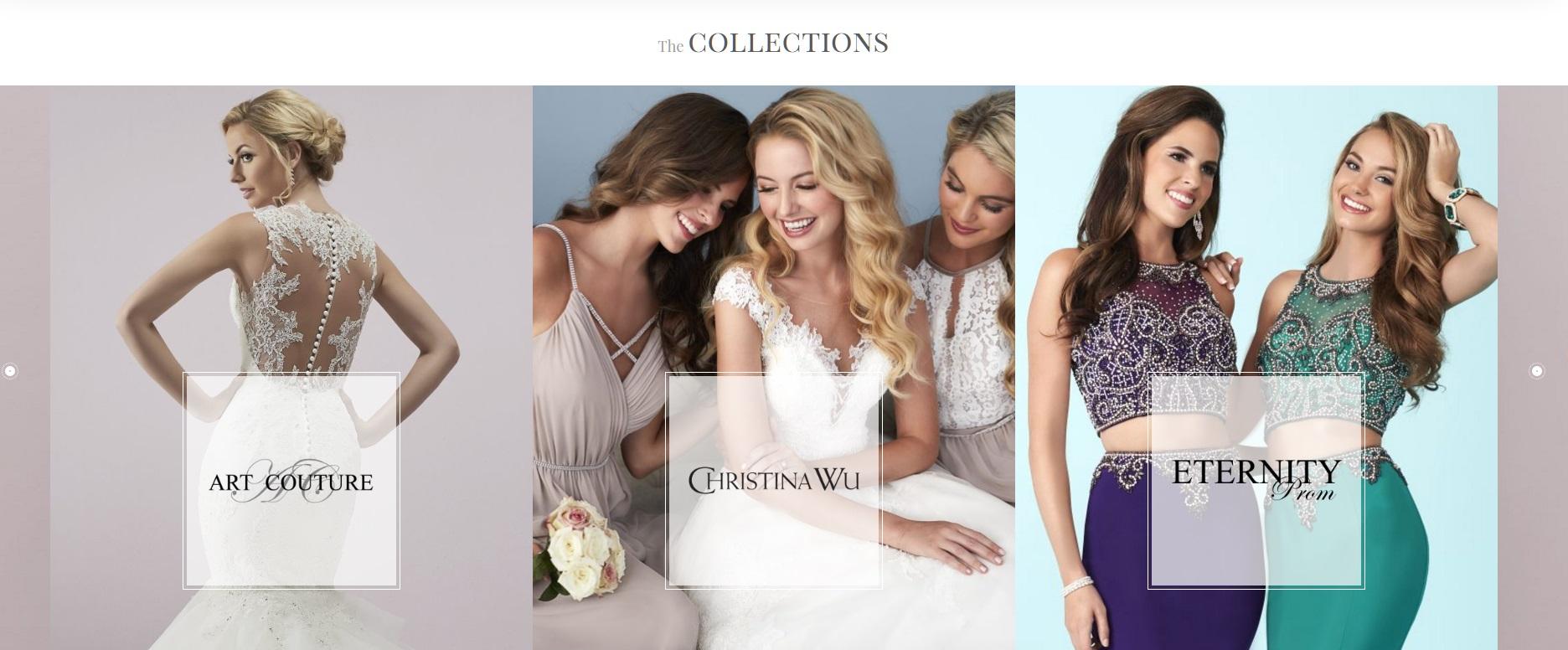 Eternity Bridal website