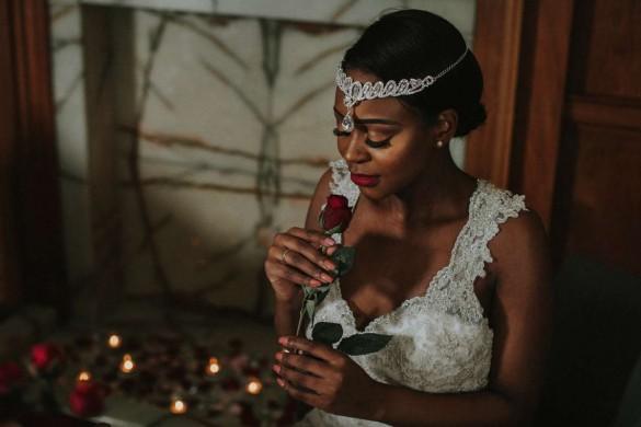 valentine's wedding shoot