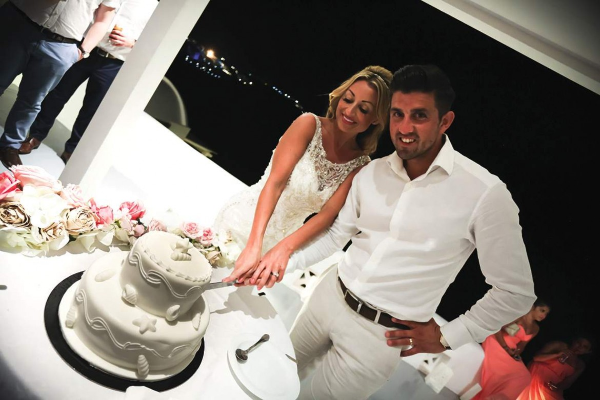 Check Out This Sunny And Super Colourful Wedding In Santorini Bride Kerry Tells Us More