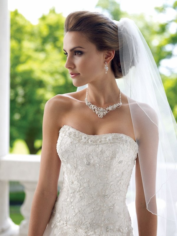 Bridal jewellery sets Giselle_pearl_and_diamante_bridal_necklace_set_120