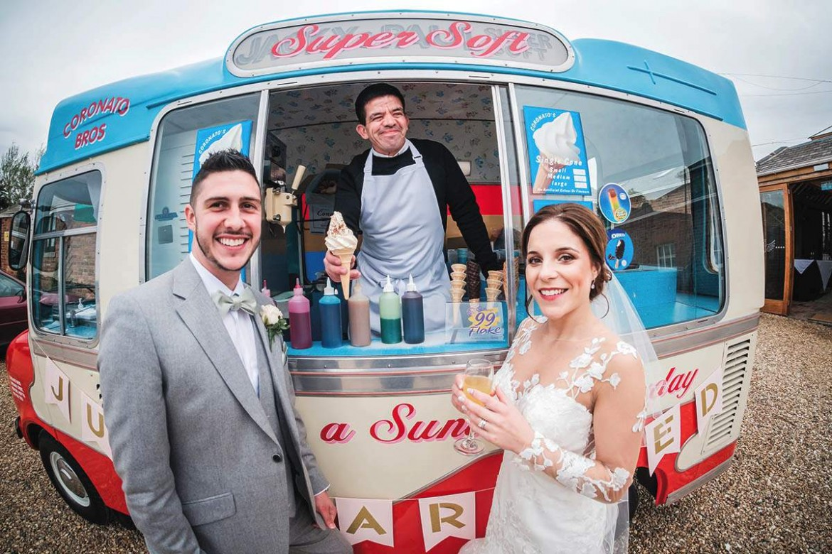 sweet treats for your wedding reception