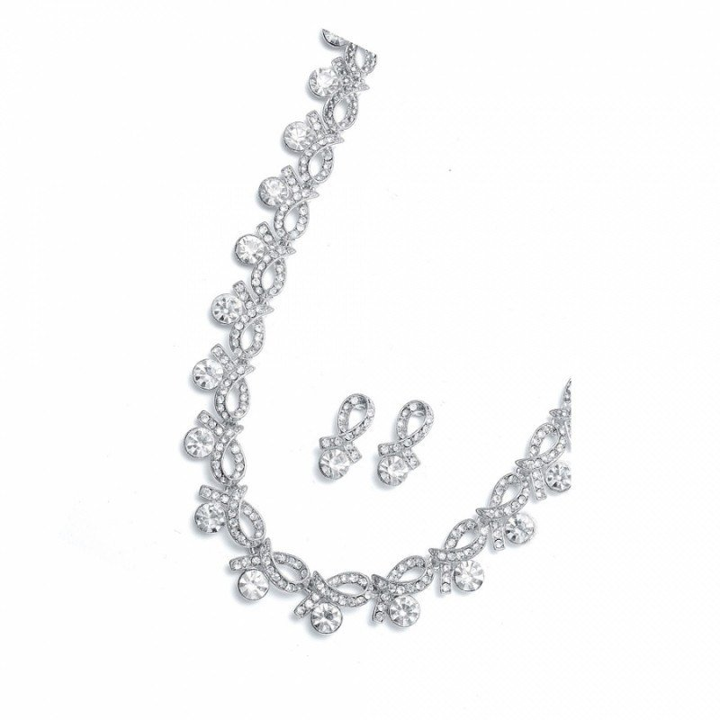 Bridal jewellery sets crystal-set-estelle-necklace-and-earrings-set-76.99
