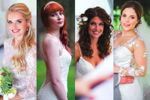 Bridal beauty looks