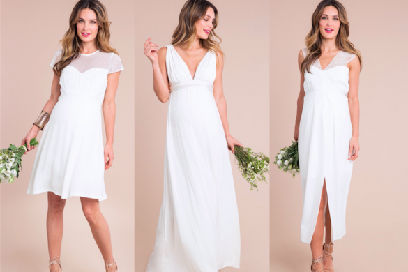 Maternity bridal gowns