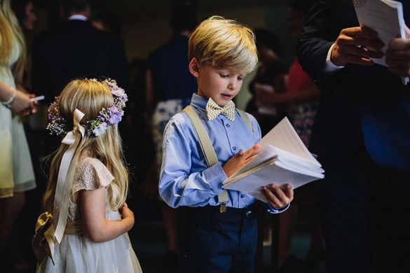 Children at weddings