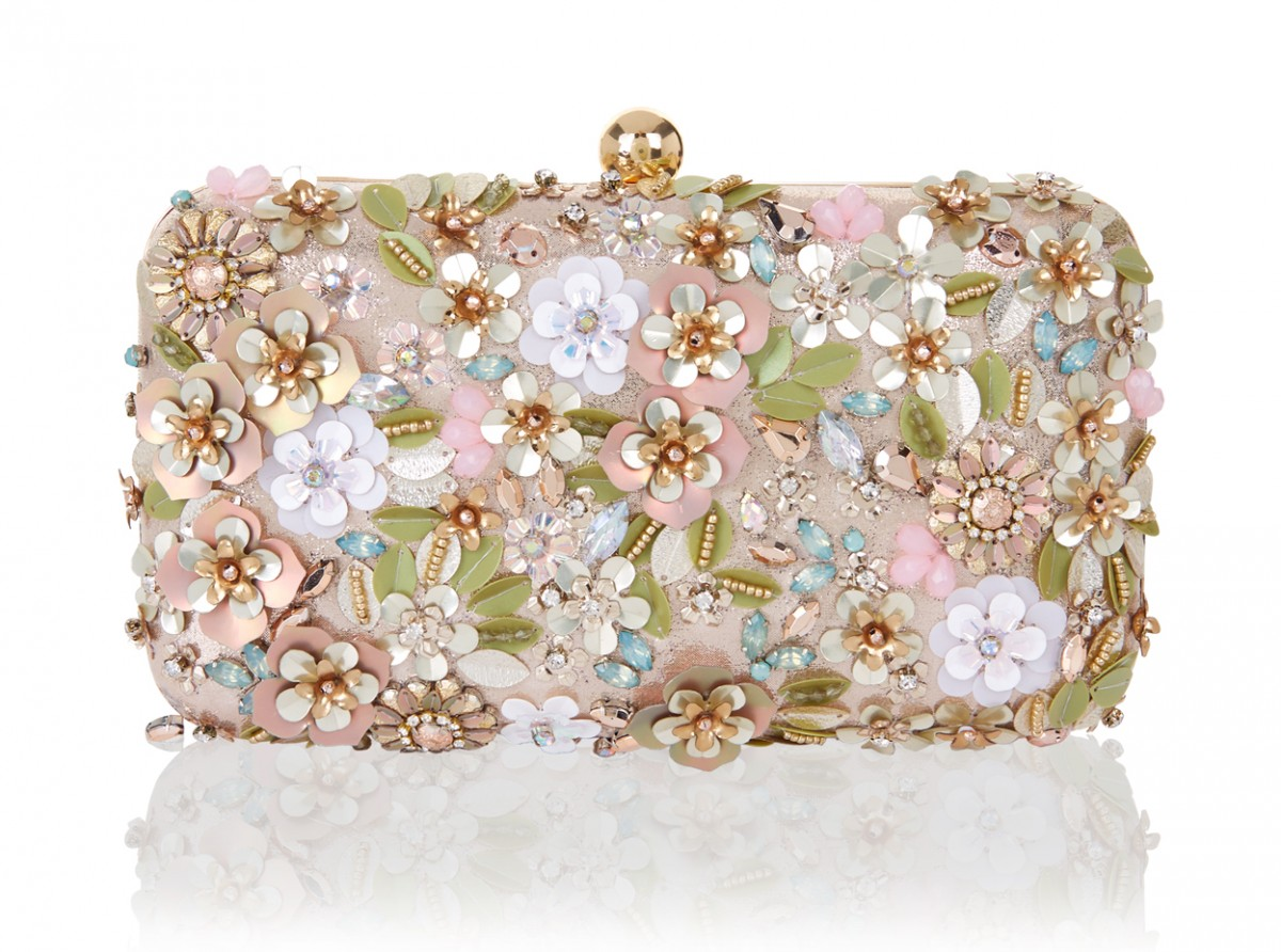 Accessorize Secret Garden Hardcase Clutch Bag 49
