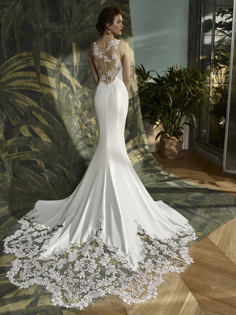 enzoani blue wedding dress | Wedding
