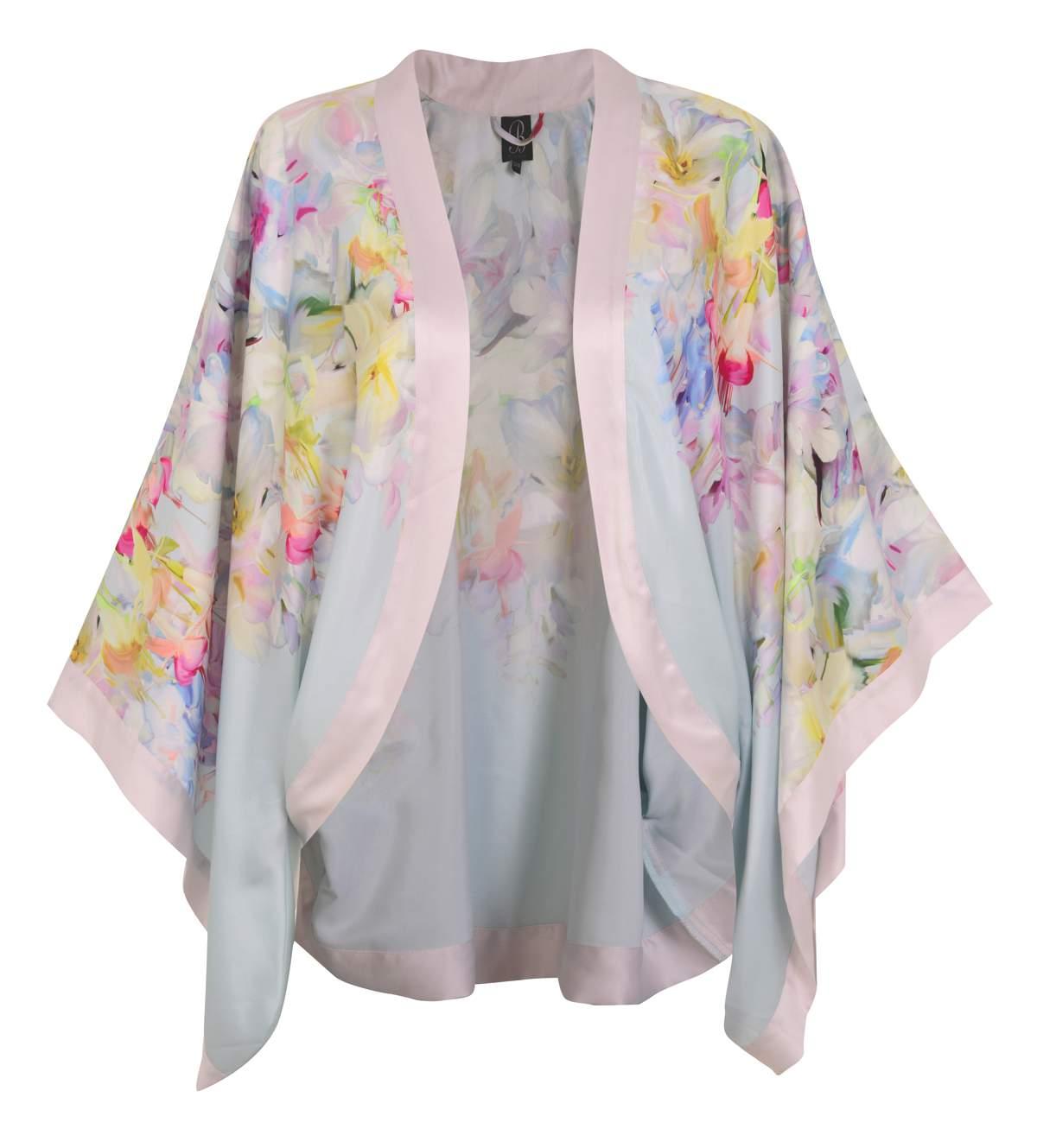 Ted Baker silk robe, £30, Debenhams