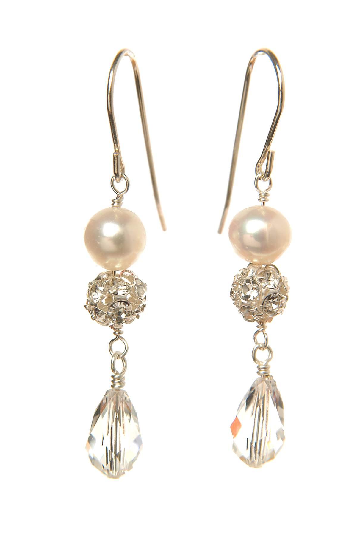 Angel Earrings, £30, Yardwood-White