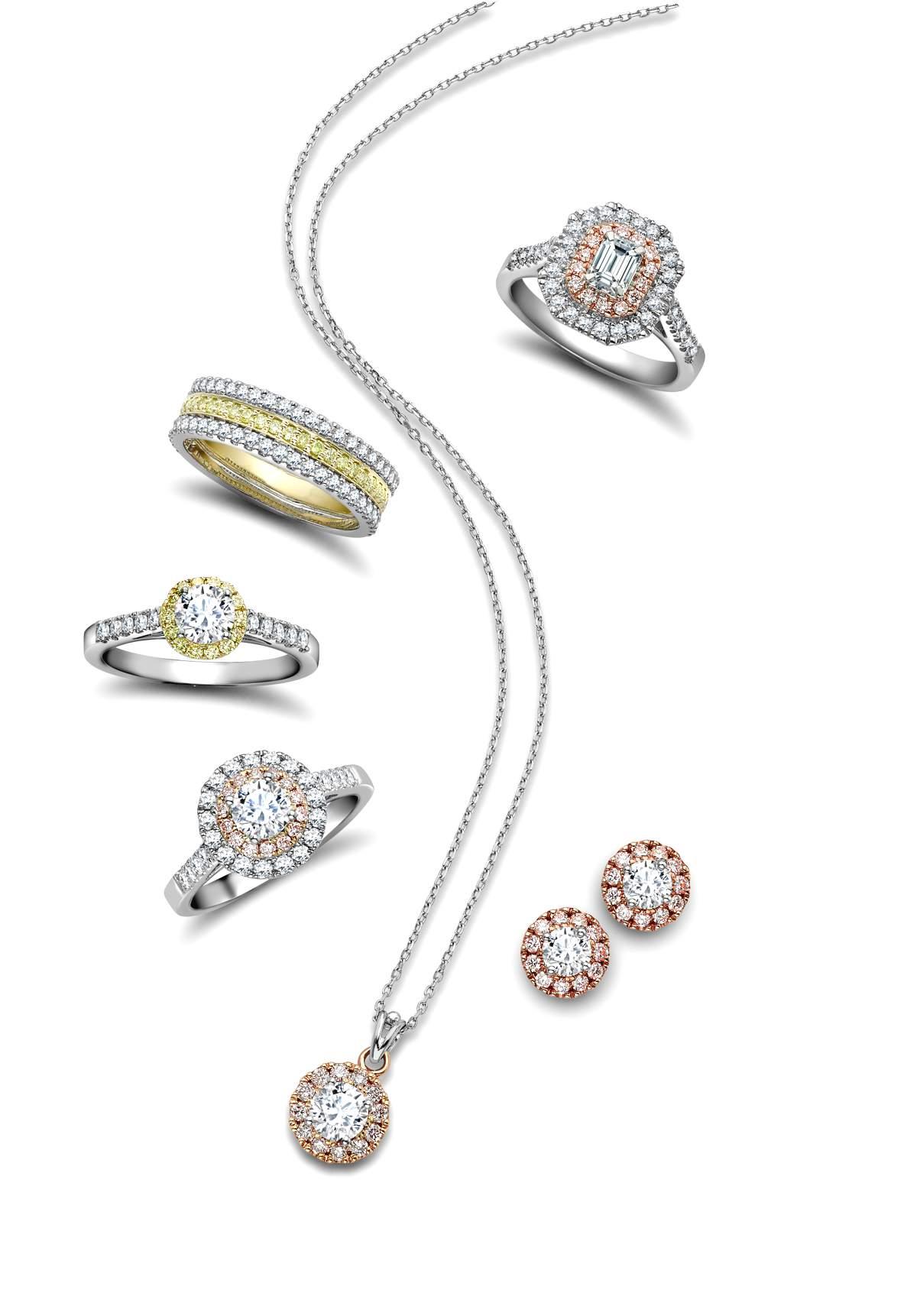 Natural Fancy Coloured Diamond