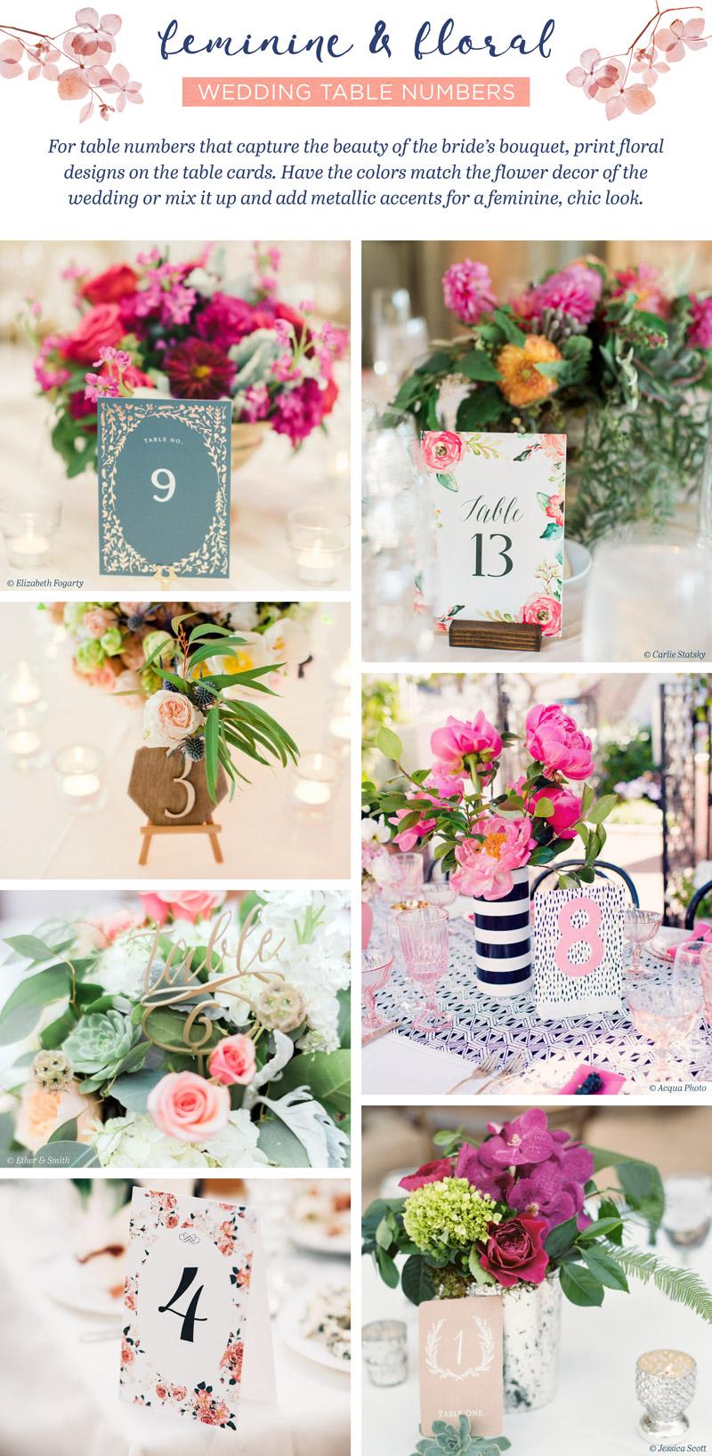 wedding-table-numbers-floral