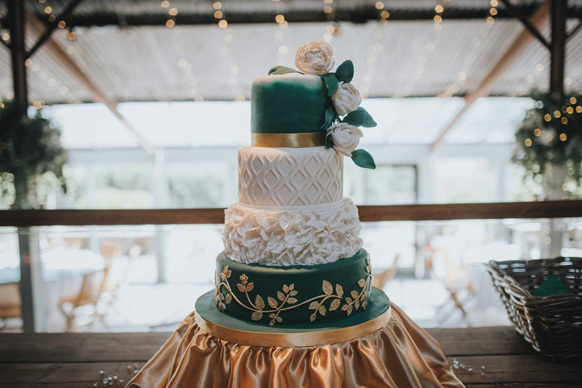 Real-wedding cakes