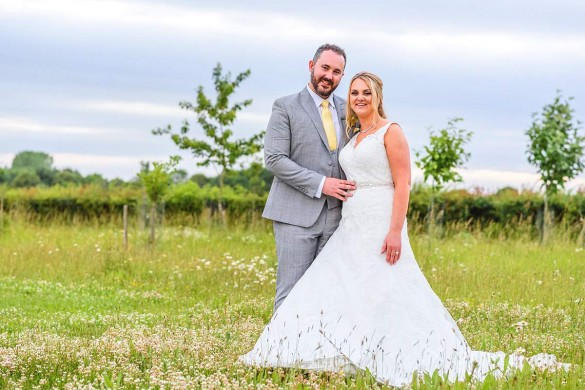 country-meadow wedding