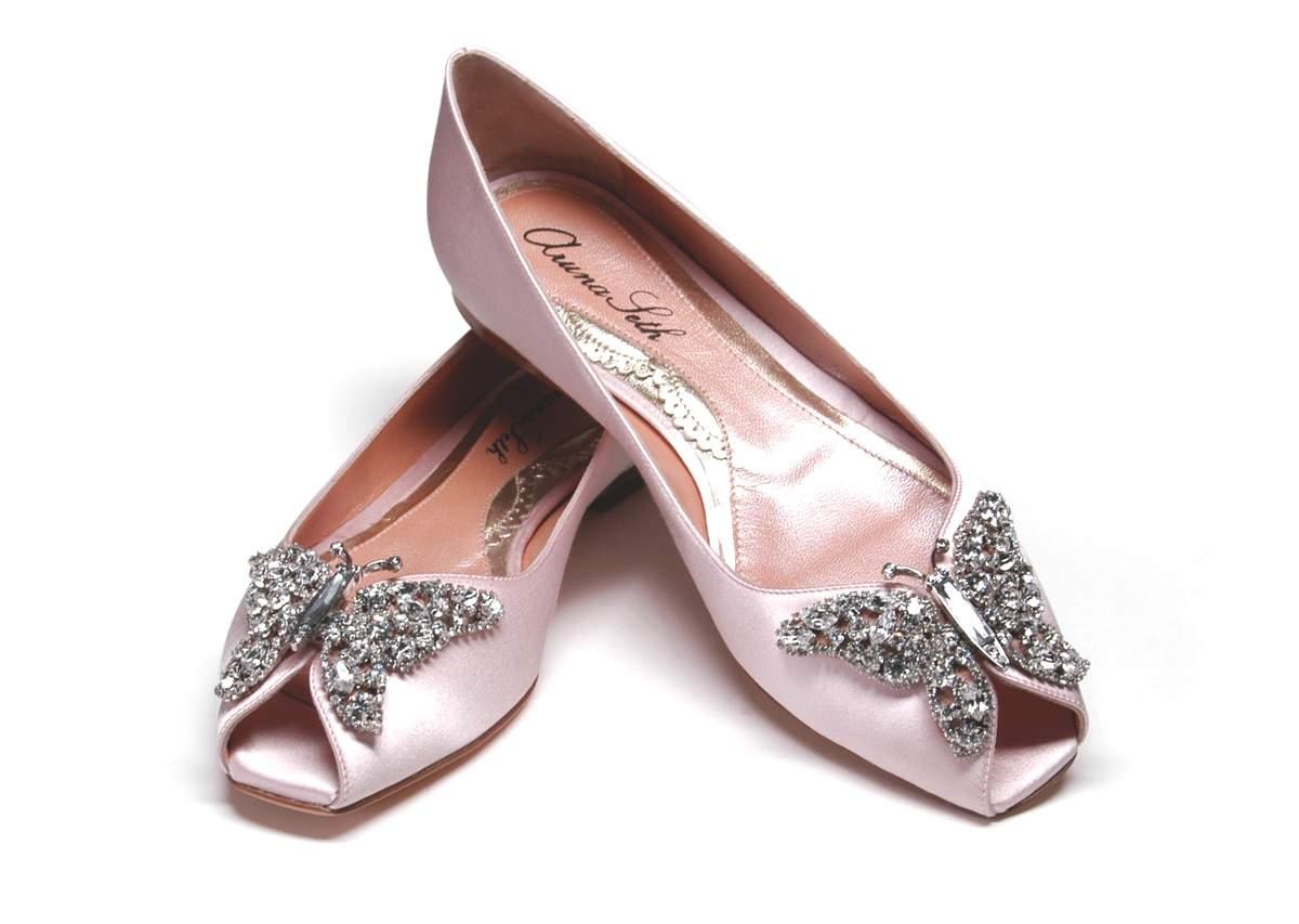 Liana Ballerina Peep Toes, Aruna Seth, £445