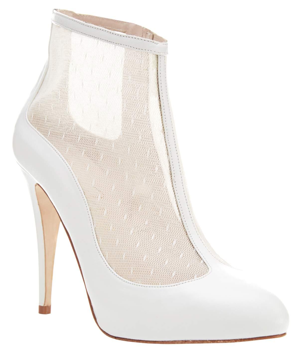 Harriet Wilde shoes HONEY IVORY, £229.99