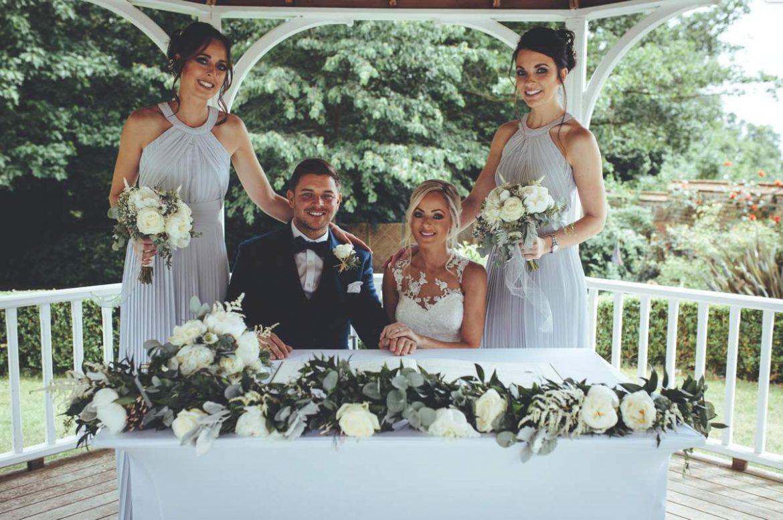 seasonal wedding flowers