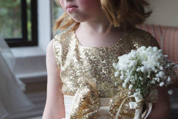 A gorgeous gold colour scheme