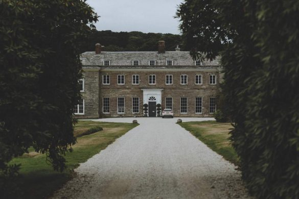 A summer wedding in Cornwall