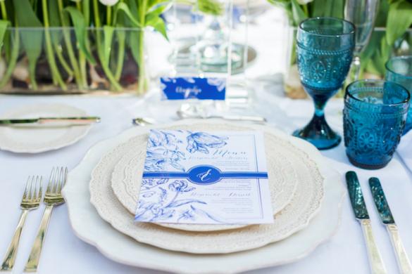 summer wedding stationery