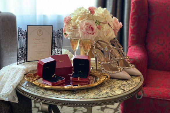 A luxurious and elegant wedding