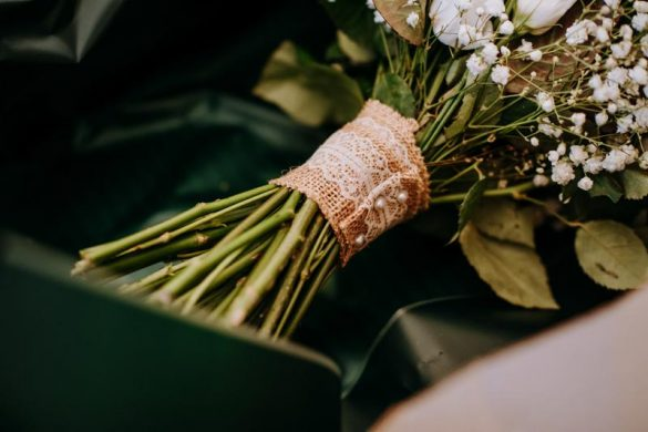 A gorgeous DIY wedding