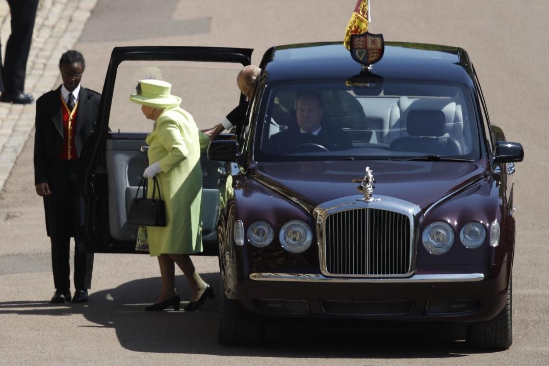 royal wedding cars