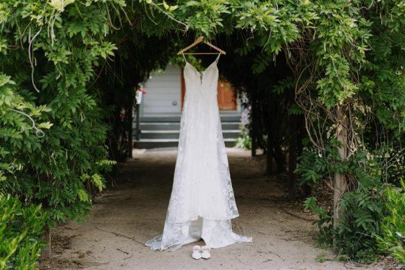 An elegant vineyard wedding