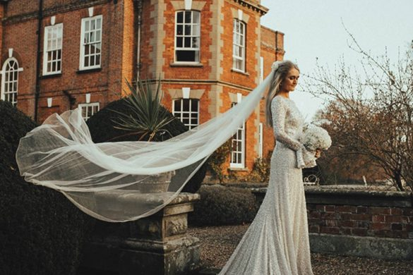 A classic white wintry wedding